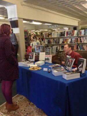 krisy book signing